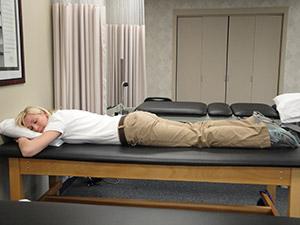 Poor Prone Lying Posture