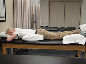 Proper Prone Lying Posture
